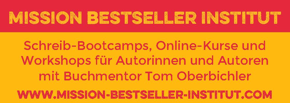 Online-Kurse und Schreibcamps für Autorinnen und Autoren mit Buchmentor Tom Oberbichle